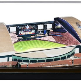 Chase Field model in display case
